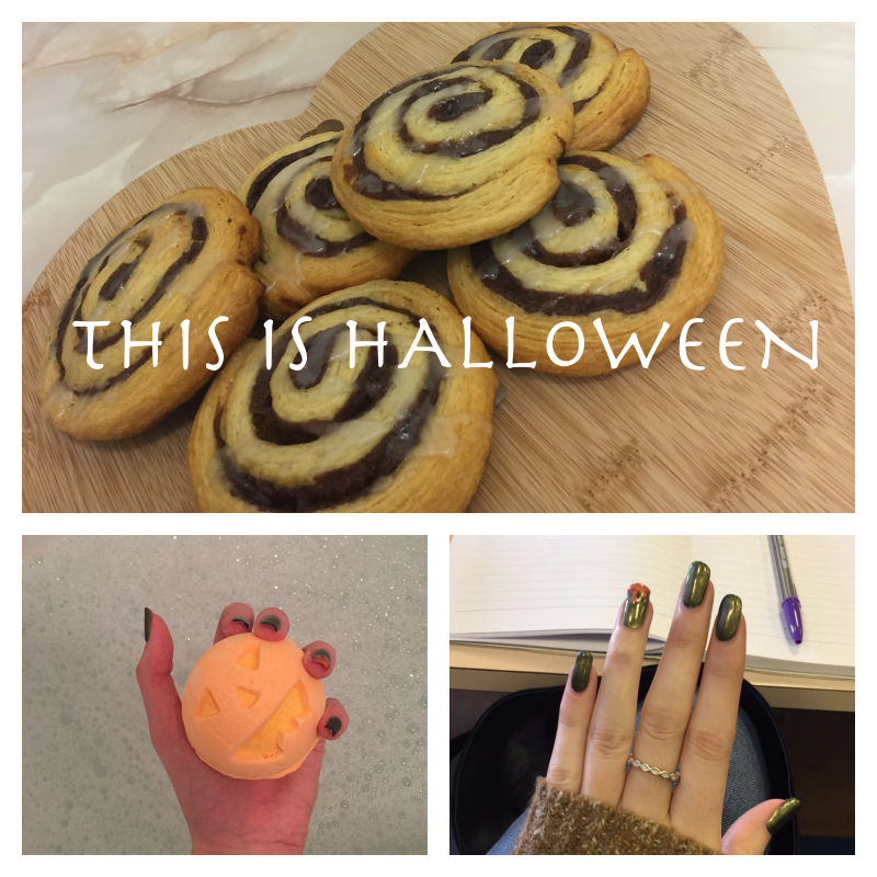 This is Halloween! How I make my apartment festive.