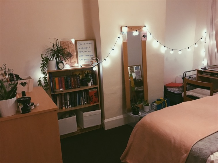 My final year bedroom