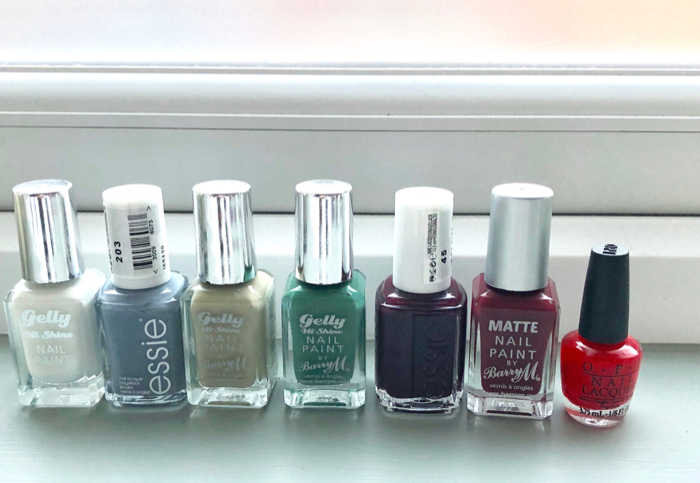 Nail colours I am loving right now
