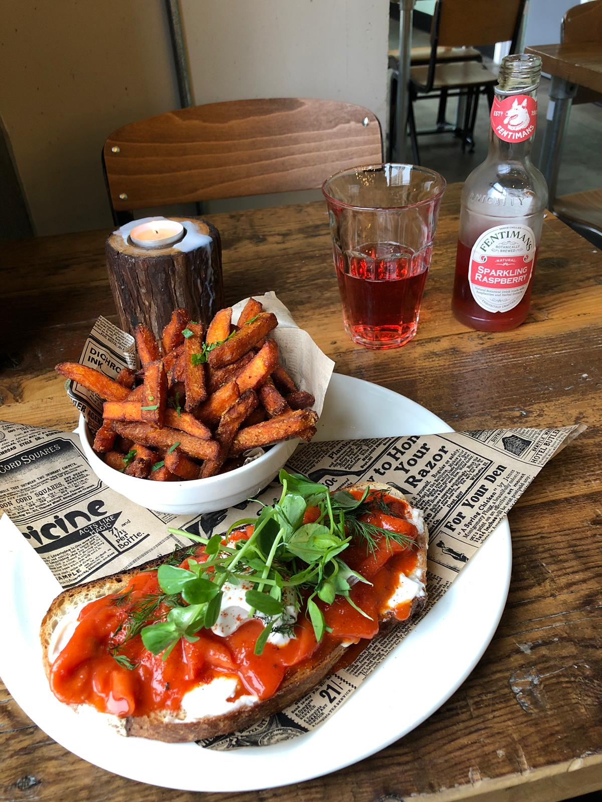 Vegan restaurant in Birmingham city centre: Natural Bar and Kitchen