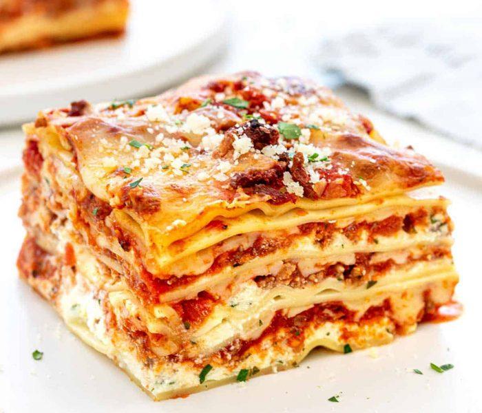 The best lasagne recipe ever!